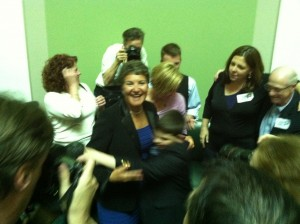 Sen. Nesselbush rejoices after passage of S38- Same-Sex Marriage