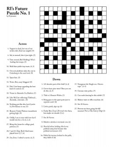 graphic relating to Cryptic Crosswords Printable identify RI Potential Cryptic Crossword #1