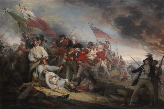 Battle of Bunker Hill, John Trumbull