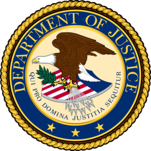 US Justice Dept Seal