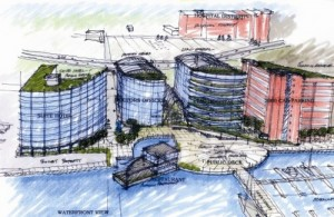 Proposed Redevelopment for Conley Piers