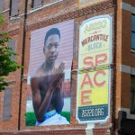 Mary Beth Meehan's large scale photography exhibition in downtown Providence