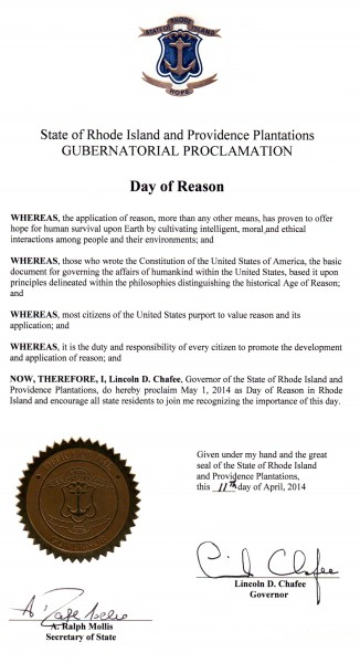 Day of Reason 2014