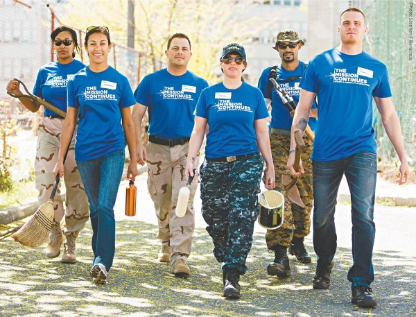 Veterans of The Mission Continues, Photo by Stephen Bevacqua