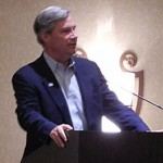 Sen. Sheldon Whitehouse addresses RI delegation on the eve of DNC2012