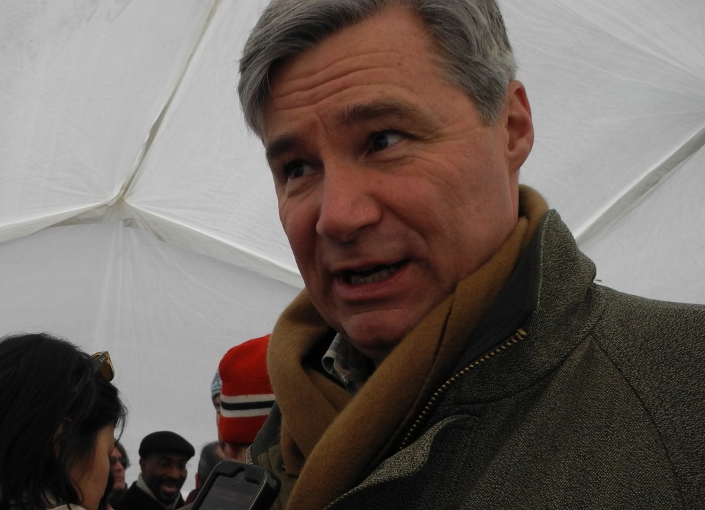 Sen. Sheldon Whitehouse at Forward on Climate rally