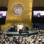 President Obama addresses the UN Climate Summit