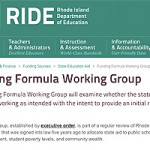 Ed Funding working group recommends changes