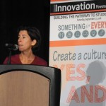 Gov. Gina Raimondo speaks at the Innovation Powered by Technology conference