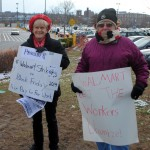 Black Friday Walmart protest in Providence