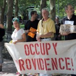 Occupy Providence returns to confront harassment of homeless
