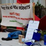 Protesters stage hunger strike outside FERC for Pope's visit to DC