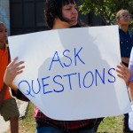 Students protest suspension of popular teacher over birth control comment