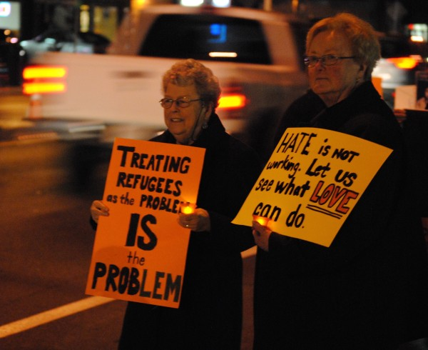 2015-12-10 Human Rights Day Vigil 041