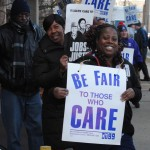 Bannister House workers demanding fair contract from Centers