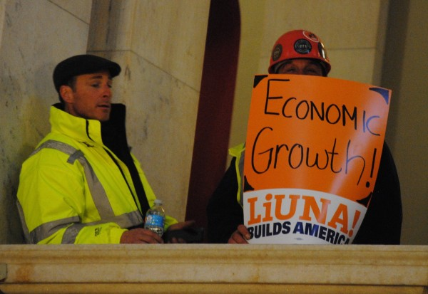2016-02-03 Building Trades State House 004