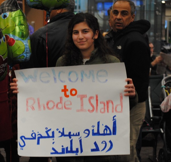 2016-02-11 First Syrian Refugee Family in RI 001