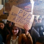 Democracy Now! covers anti-Syrian refugee rally via RI Future footage