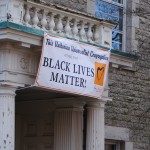 First Unitarian Church of Providence unveils Black Lives Matter banner