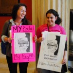 Millennials rally for repro rights and Planned Parenthood at the State House