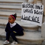 Nursing home workers Fight for $15