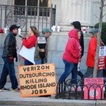 RI Sierra Club stands with striking Verizon Workers