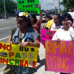 Elderly, disabled and homeless march on RIPTA