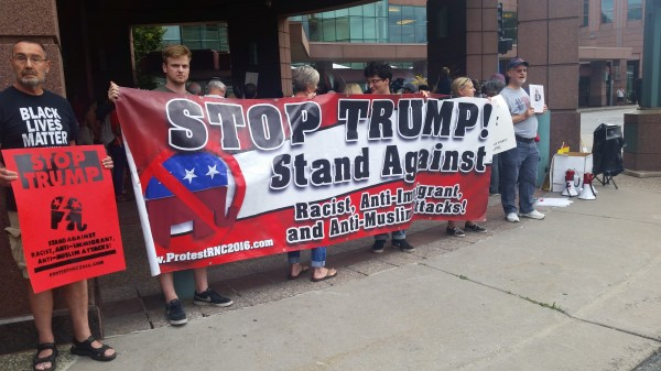 2016-08-19 MN Convention Center Protest 009