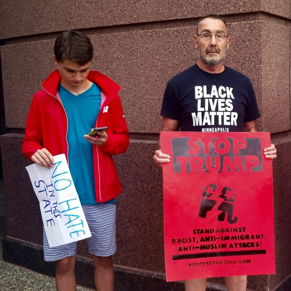 2016-08-19 MN Convention Center Protest 015