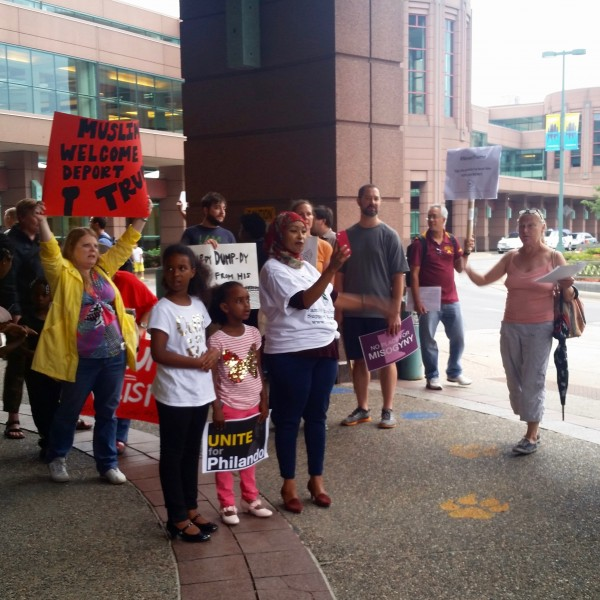 2016-08-19 MN Convention Center Protest 054