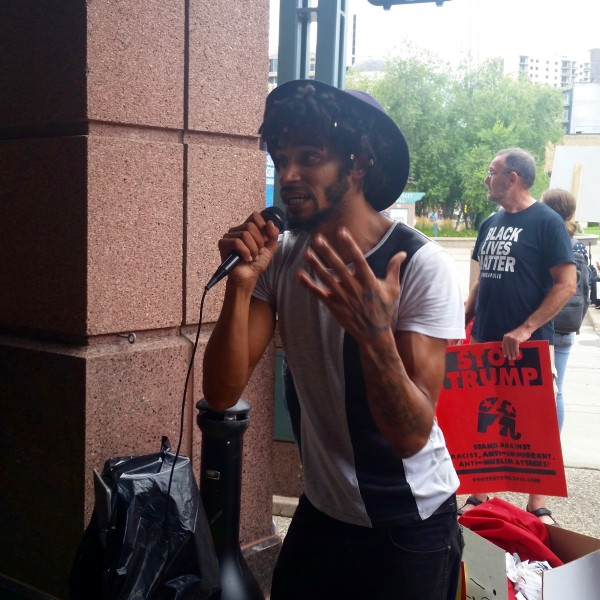 2016-08-19 MN Convention Center Protest 077