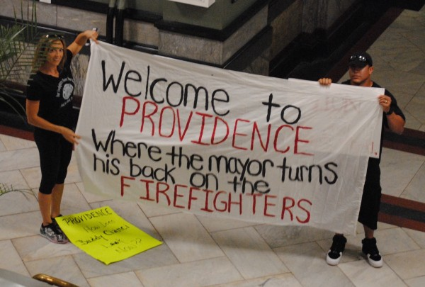 2019-09-08 PVD Fireghters City Hall 014