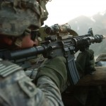 A soldier of the 10 Mtn. Div. during Operation Mountain Fire (via U.S. Army)