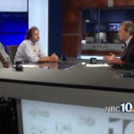 Justin Katz, Bob Plain and Jim Taricani on WJAR's Sunday morning politics show 10 News Conference.