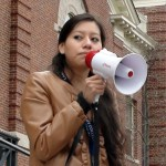 Students join librarians to demand fair contract at Brown