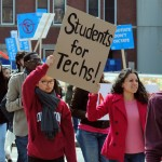 Massive student support helps end RISD Tech strike