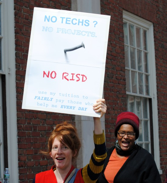 RISD Strike