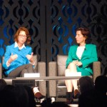 Abigail Johnson, Gina Raimondo