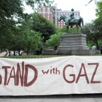 Pro-Palestine rally and vigil in Burnside Park