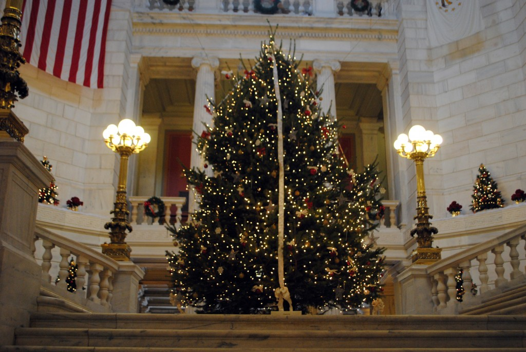 2012 State House Holiday Tree