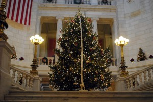 State House Holiday Tree