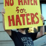 LGBTQ community protests Haven Brothers hate crime