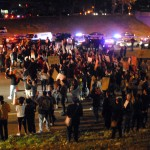 Ferguson protesters' tactic of choice: shut down highways