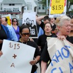 Photos: Rhode Island's Fight for $15, 12pm at Wendy's