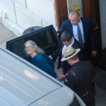 Lisa Petrie arrested at State House protesting power plant