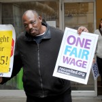 Restaurant workers, faith leaders march for tipped minimum wage increase