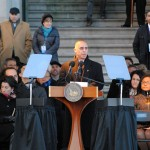Mayor Elorza's inauguration speech seeks buy in for his vision