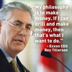 EXXON CEO joins in an anti-fracking lawsuit