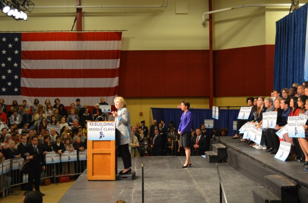 Clinton endorses Raimondo