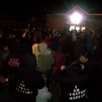 Big Turnout Last Night For Trayvon Martin March